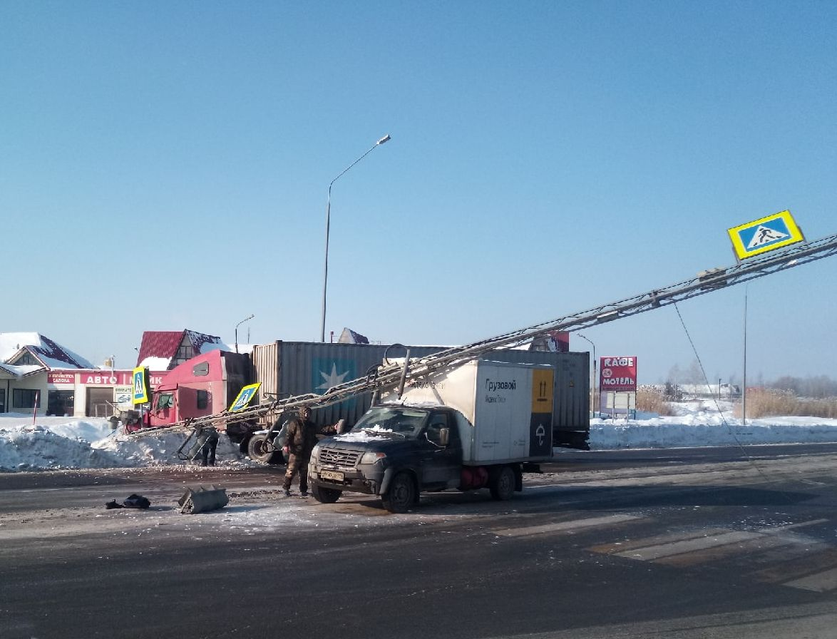 ДТП Вязники 295 км М-7 18 февраля 2021,