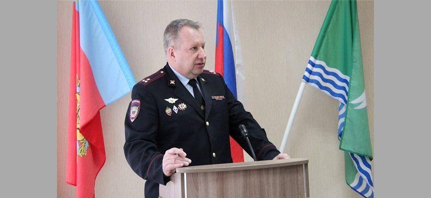 полковник полиции Саратов Алексей Владимирович,