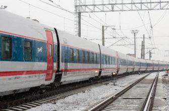 поезд стриж, поезд стриж зимой,