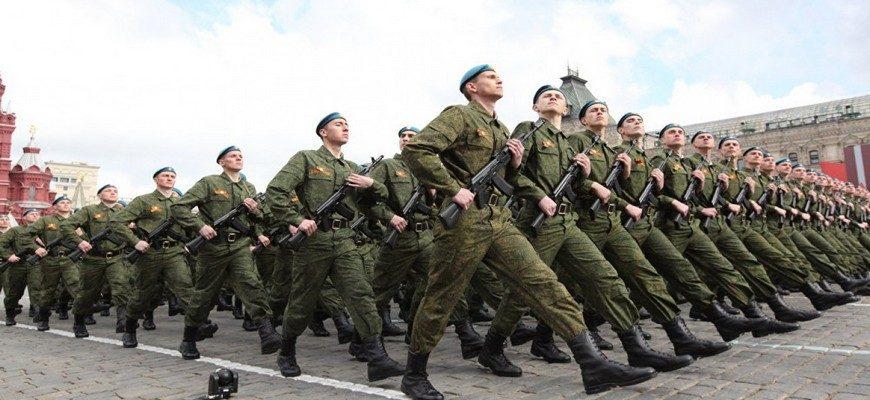 строй солдат, армия, день защитки Отечества, 23 февраля, парад,