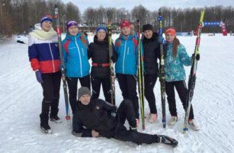 вязниковские лыжники,