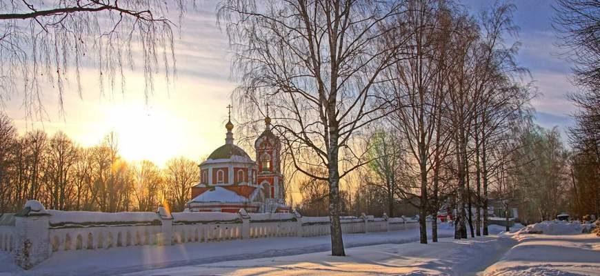 Вязники Крестовоздвиженская церковь, Прощеное воскресенье, храм Вязники,