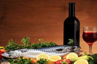 Великий пост рыба, Великий пост вино,