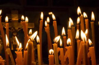 свечи, вселенская родительская суббота, свечи в церкви,