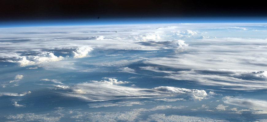 земная атмосфера,
