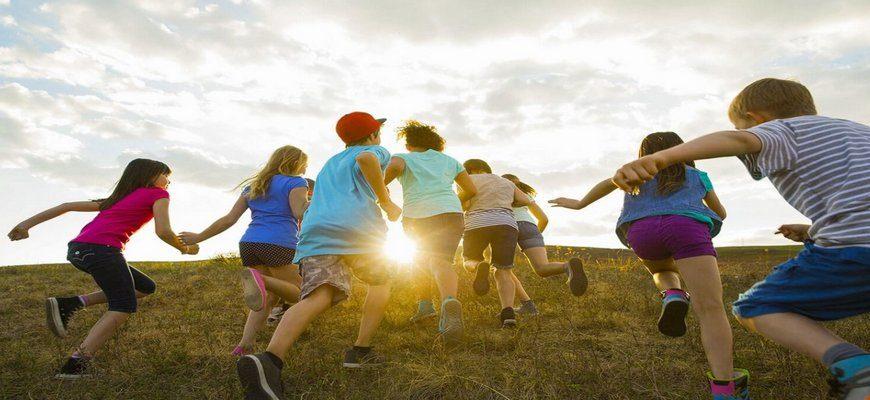 дети лагерь,летний детский лагерь,